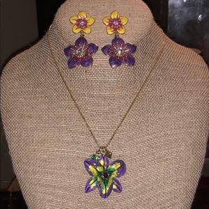 Betsey Johnson wild flower set